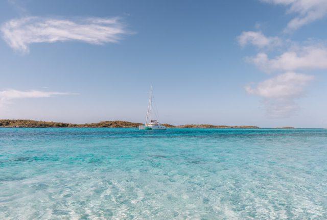 Bahamas Exumas Yacht Charter Iguana Island Lagune