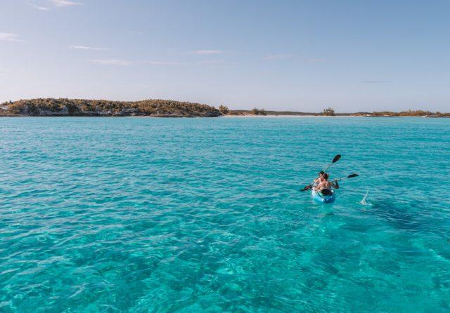 Bahamas Exumas Yacht Charter Kayak
