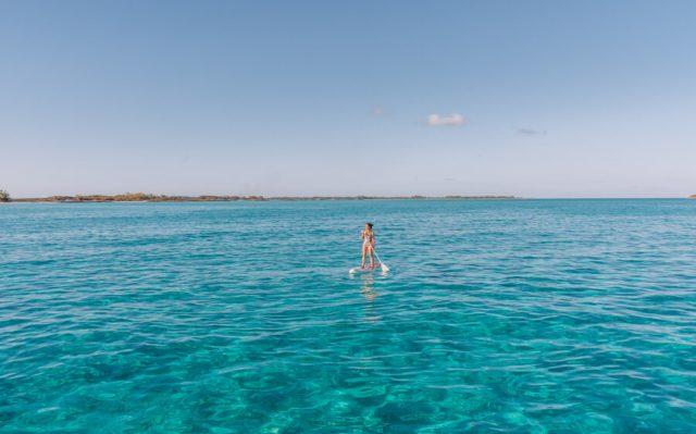 Bahamas Exumas Yacht Charter SUP