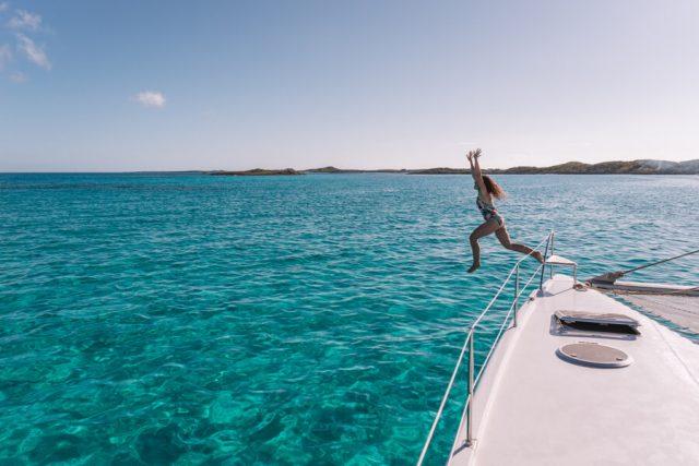 Bahamas Exumas Yacht Charter Segeltoern