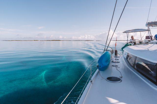 Bahamas Exumas Yacht Charter Shroud Cay Segeln