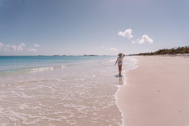 Bahamas Exumas Yacht Charter Shroud Cay Strand