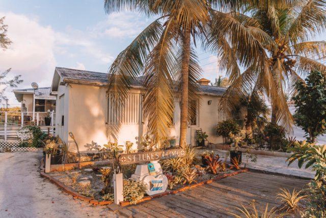 Bahamas Exumas Yacht Charter Staniel Cay Hospital