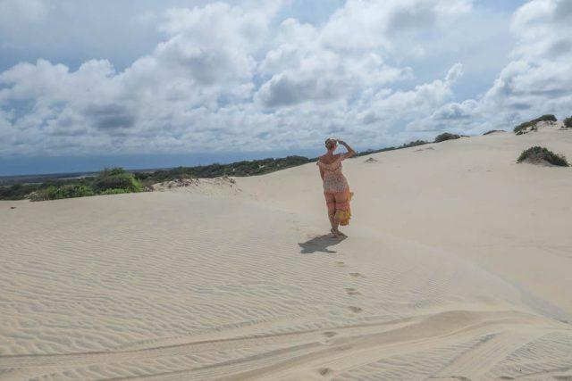 Brasilien Urlaub Ceara Fortaleza Canoa Quebrada Dünen