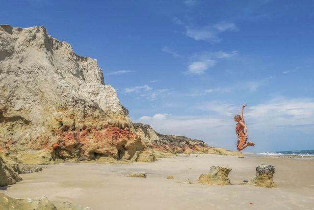 Brasilien Urlaub Ceara Fortaleza Brasilien Urlaub Ceara Fortaleza Praia das Fontes Strand