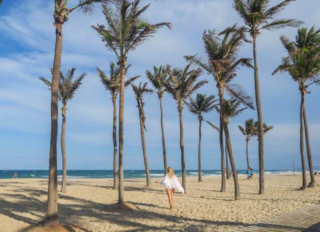 Brasilien Urlaub Ceara Fortaleza Wasserpark Strand