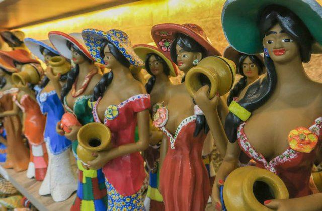 Brasilien Urlaub Ceara Fortaleza Mercato Central Souvenir