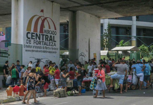 Brasilien Urlaub Ceara Fortaleza Mercato Central außen