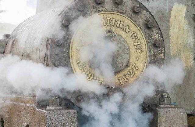 Brasilien Urlaub Ceara Fortaleza Zuckerrohr Fabrik Maschine