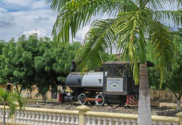 Brasilien Urlaub Ceara Fortaleza Bahnhof Kaffee
