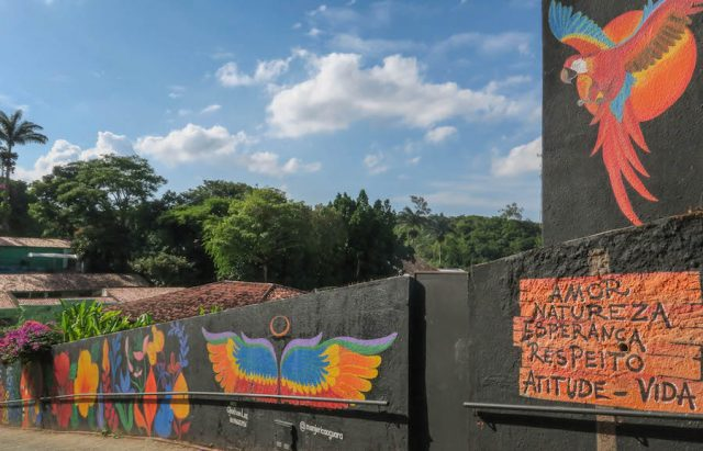 Brasilien Urlaub Ceara Fortaleza Guaramiranga Streetart