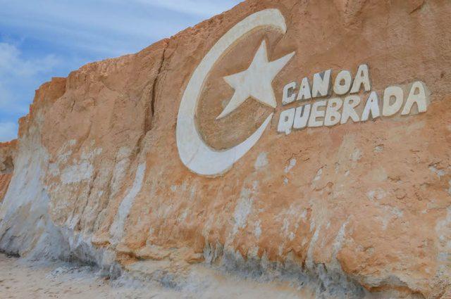 Brasilien Urlaub Ceara Fortaleza Canoa Quebrada