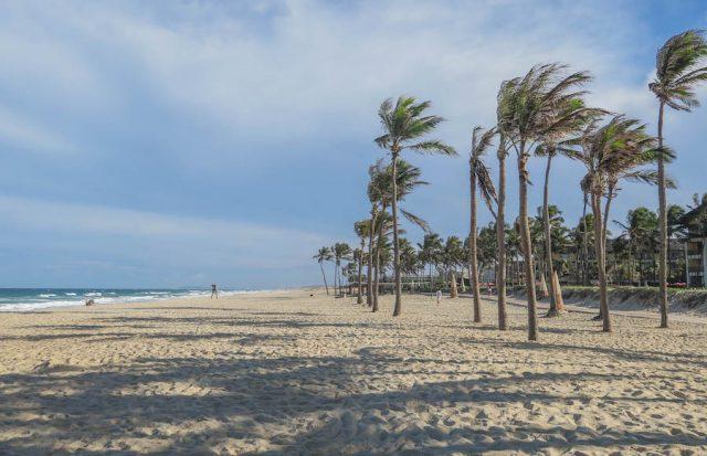 Brasilien Urlaub Ceara Fortaleza Strand