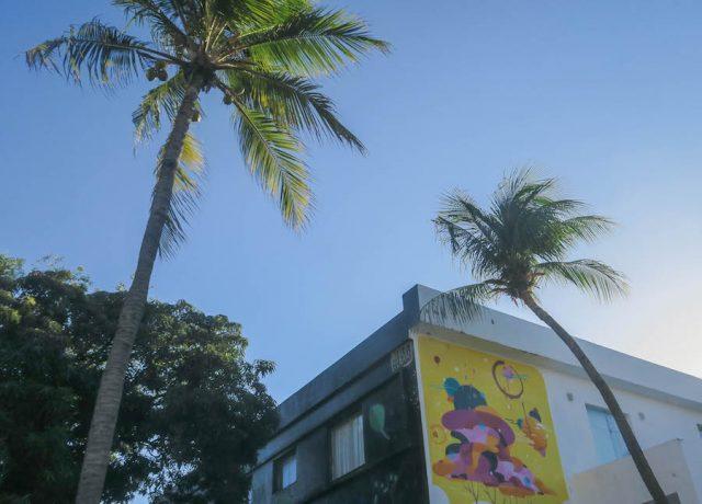 Brasilien Urlaub Ceara Fortaleza Innenstadt Streetart
