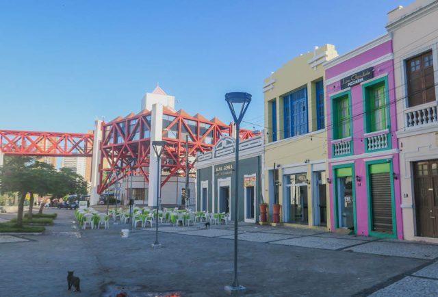 Brasilien Urlaub Ceara Fortaleza Innenstadt