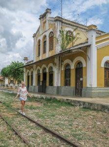 Brasilien Urlaub Ceara Fortaleza Train museum