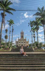 Brasilien Urlaub Ceara Fortaleza Guaramiranga Kirche