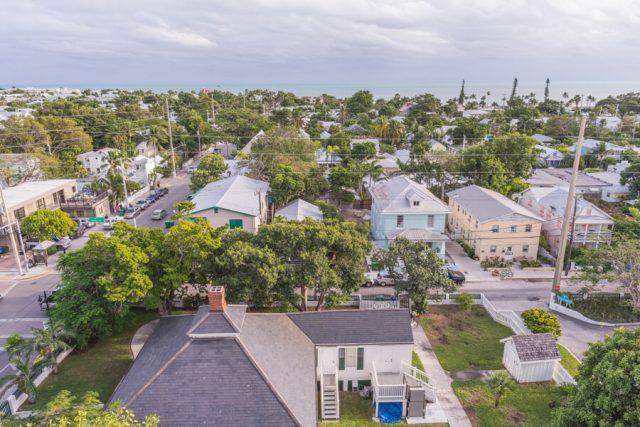 Key West Florida Sehenswuerdigkeiten Aussicht Leuchtturm