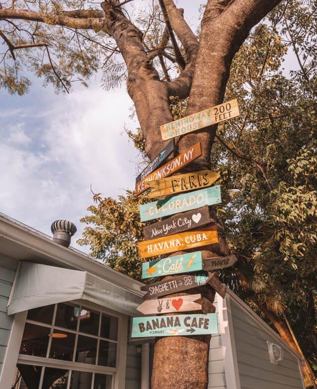 Key West Florida Sehenswuerdigkeiten Cafe