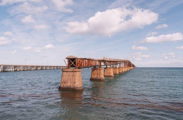 Key West Florida Sehenswuerdigkeiten Eisenbahnbruecke