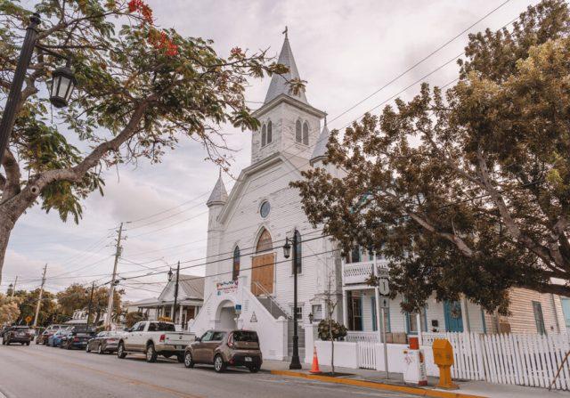 Key West Florida Sehenswuerdigkeiten Kirche