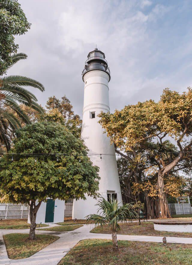 Key West Florida Sehenswuerdigkeiten Leuchtturm