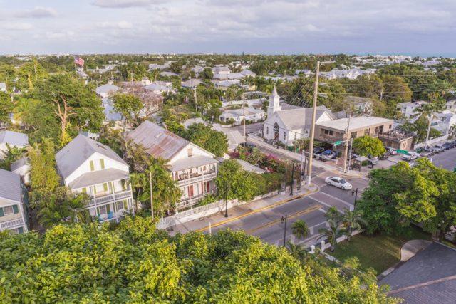 Key West Florida Sehenswuerdigkeiten Leuchtturm Aussicht