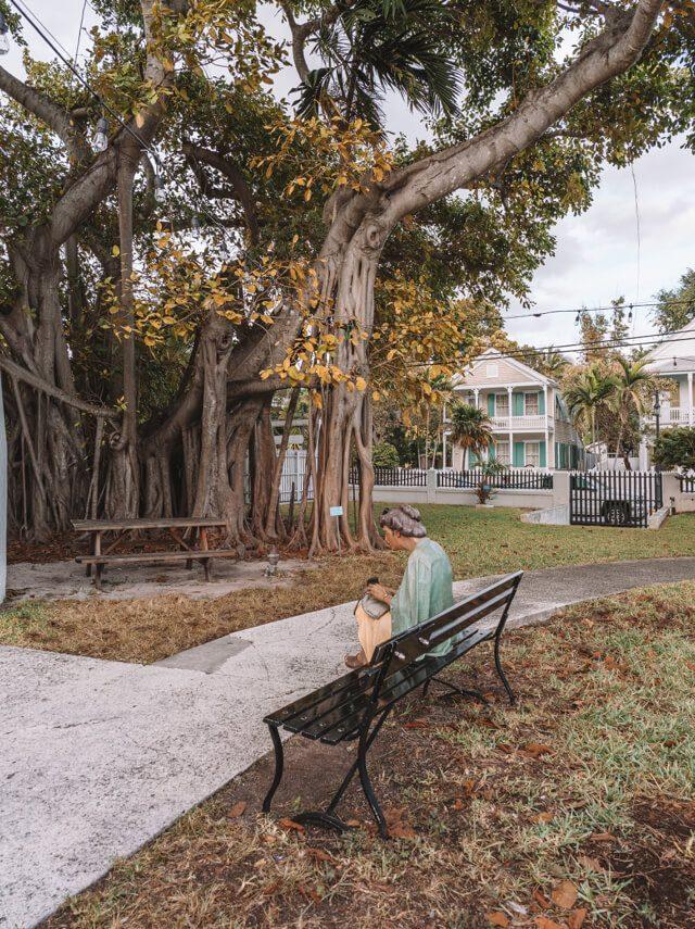 Key West Florida Sehenswuerdigkeiten Leuchtturm Waechter