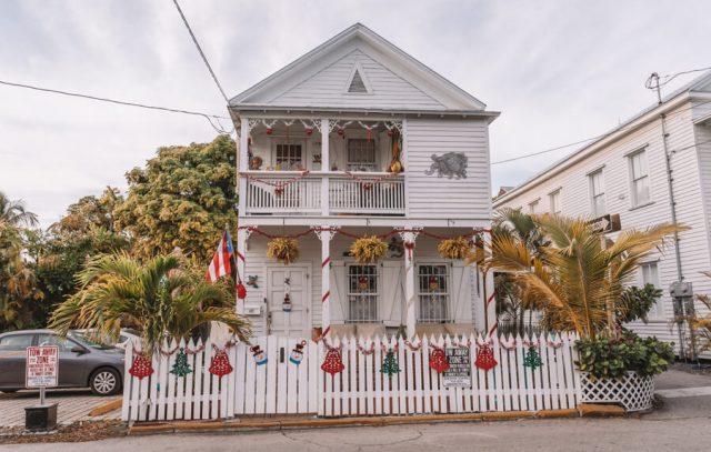 Key West Florida Sehenswuerdigkeiten Weihnachtsschmuck