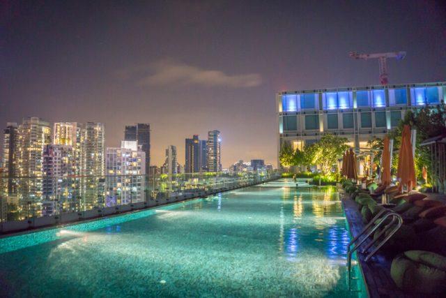 Singapur Sehenswuerdigkeiten Hotel Jen Orchard Gateway