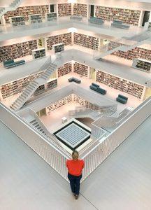 Weihnachtsmarkt Stuttgart Tipps Stadtbibliothek Architektur