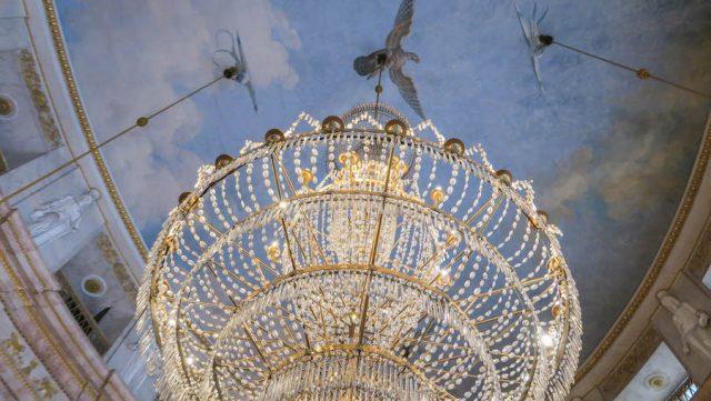 Weihnachtsmarkt Stuttgart Tipps Ludwigsburger Schloss Kostümführung Marmorsaal