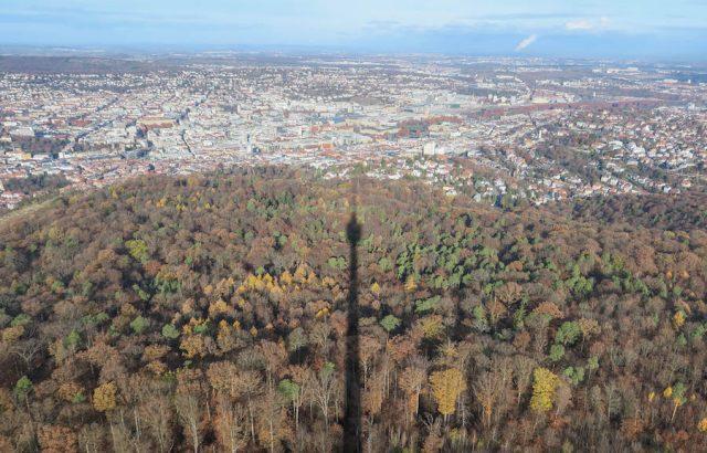 Weihnachtsmarkt Stuttgart Tipps Fernsehturm Aussicht