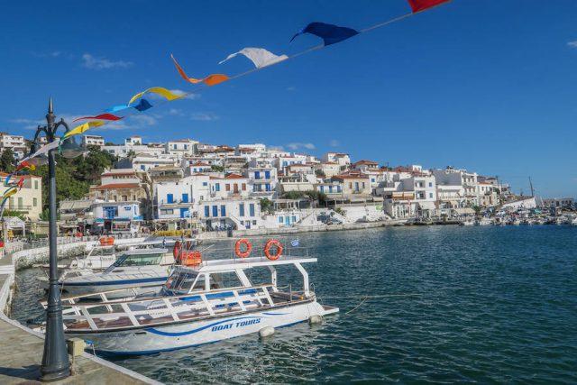Griechenland Urlaub-griechische Inseln-Andros Batsi