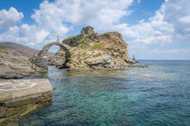Griechenland Urlaub-griechische Inseln-Andros Chora