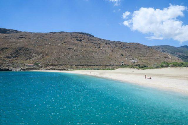 Griechenland Urlaub-griechische Inseln-Andros Ahla Beach