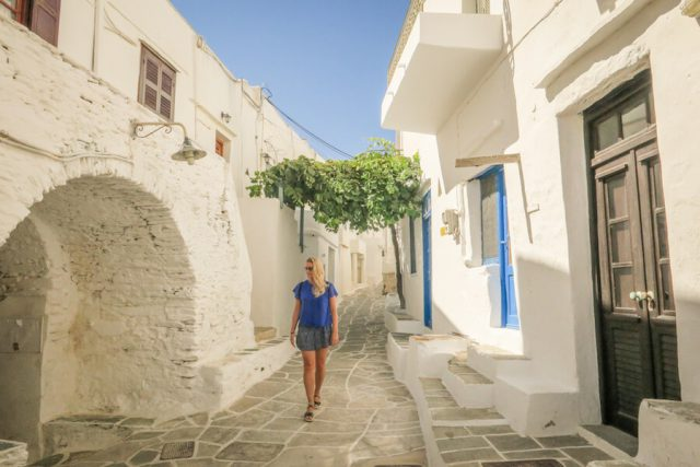 Griechenland Urlaub-griechische Inseln-Sifnos Kastro