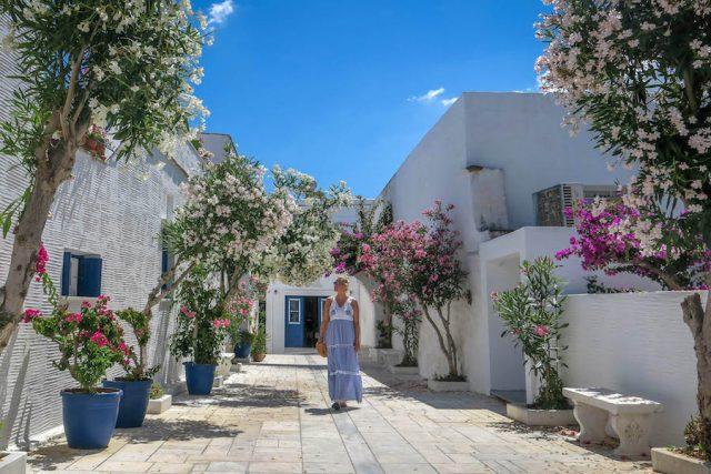 Griechenland Urlaub-griechische Inseln-Tinos Pyrgos