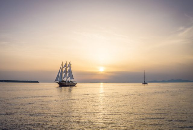 Griechische Inseln Santorini Bootstour