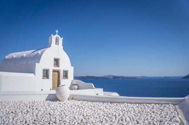 Griechische Inseln Santorini Kirche