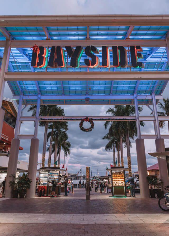 Miami Beach Sehenswuerdigkeiten Urlaub Bayside Market Place