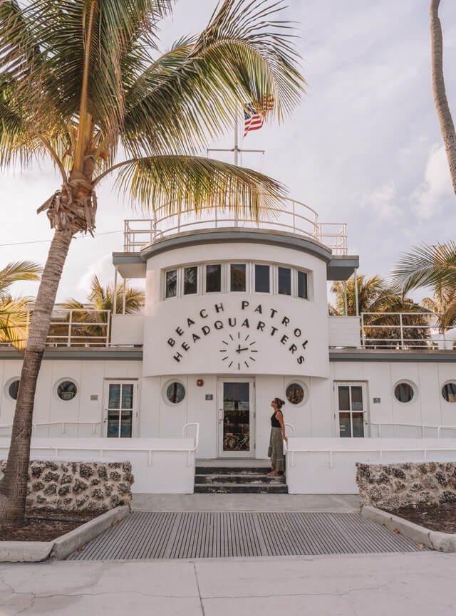 Miami Beach Sehenswuerdigkeiten Urlaub Beach Patrol Headquarter