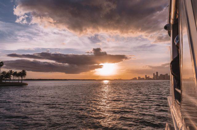 Miami Beach Sehenswuerdigkeiten Urlaub Bootstour Biscayne Bay