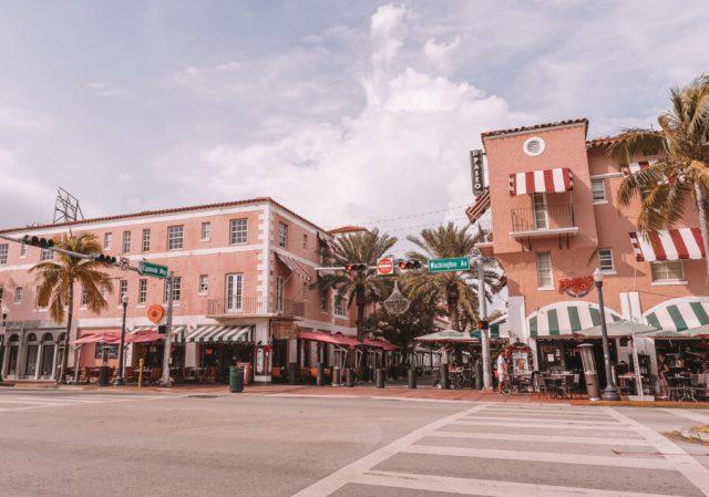 Miami Beach Sehenswuerdigkeiten Urlaub Espanola Way