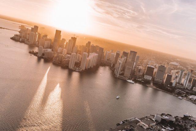 Miami Beach Sehenswuerdigkeiten Urlaub Helikopter Flug