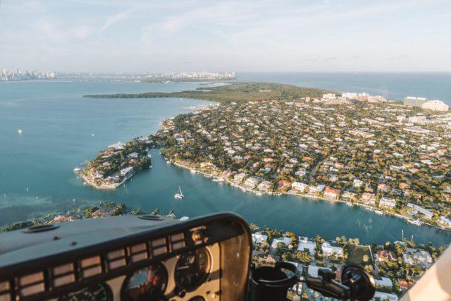 Miami Beach Sehenswuerdigkeiten Urlaub Helikopter Rundflug-3