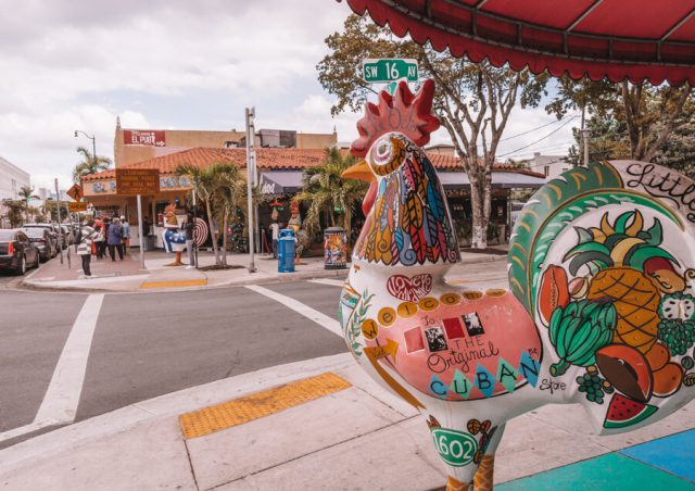 Miami Beach Sehenswuerdigkeiten Urlaub Little Havanna Calle Ocho