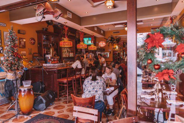 Miami Beach Sehenswuerdigkeiten Urlaub Little Havanna Restaurant