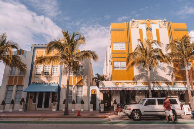 Miami Beach Sehenswuerdigkeiten Urlaub Ocean Drive