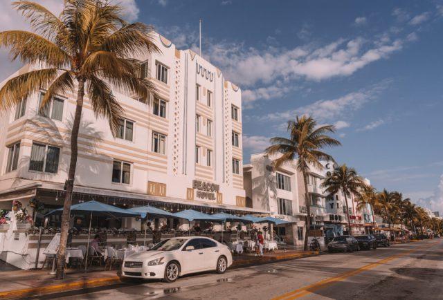 Miami Beach Sehenswuerdigkeiten Urlaub Ocean Drive Art Deco
